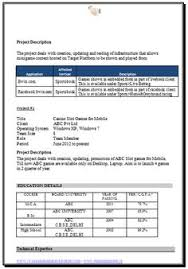 cv format for freshers mca documents mba information technology resume format page 2 career