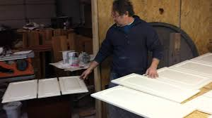 how to refinish wood kitchen cabinets refinishing maple kitchen cabinets timeless arts refinishing youtube