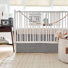 black and white stripe crib skirt black crib skirt crib skirts