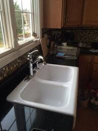 Kitchen Sinks Drop In Double Bowl by White Apron Sink View Full Size Stainless Steel Apron Sink