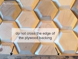 diy geometric wood wall decor hometalk