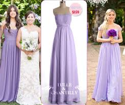 lilac dresses for weddings lilac bridesmaid dress tulle chantilly wedding