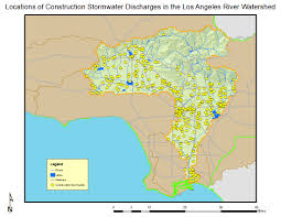 Map Of Los Angeles And Surrounding Areas by Los Angeles River Watershed