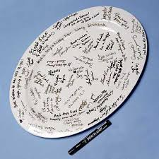 guest book platters wedding guest book platter wedding tips and inspiration