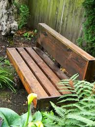 Free Woodworking Plans For Garden Furniture by Best 25 Outdoor Wooden Benches Ideas On Pinterest Wood Bench
