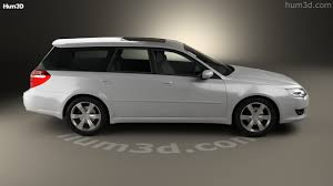 subaru legacy wagon rims 360 view of subaru legacy station wagon 2008 3d model hum3d store