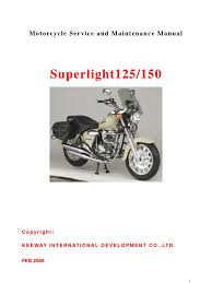 manual taller superlight 125 cc idioma ingles internal