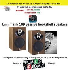 amazon bookshelf black friday sale linn majik 109 passive bookshelf speakers shop intermarket hi fi