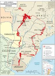 Asuncion Paraguay Map The Guarani Aquifer A Little Known Water Resource In South
