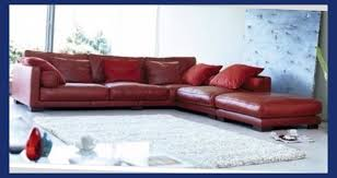 Red Corner Sofa by Leather Corner Sofa Dfs Modern Furnitures