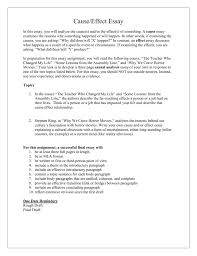 sample cause and effect essay describe a person essay important person essay the most important person in my life essay studylib net college admission application