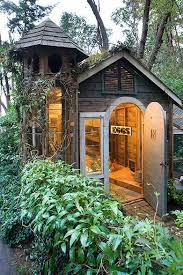 Garden Shed Lighting Ideas This Small Garden Shed Is Actually A Chicken Coop The Chickens