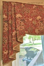 how to make a no sew valance recipe simple designs valance
