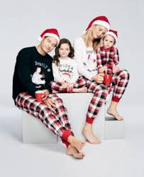 family pajamas s buffalo plaid bearly awake pajama set