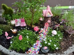 terrace and garden cute pink mushroom fairy garden 20 miracle