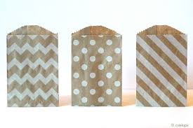 small favor bags medium or small chevron paper bags wedding favor bag set of 25