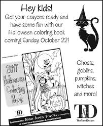halloween coloring book ads thetandd