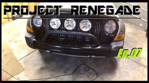 offroad lights switches u0026 voltmeter install project renegade ep