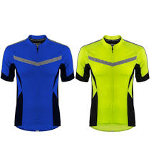 buy cycling jacket high vis reflective cycling jersey made for visibility and