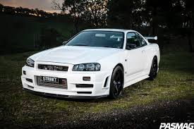 nissan skyline r34 modified pasmag performance auto and sound dream weaver chris