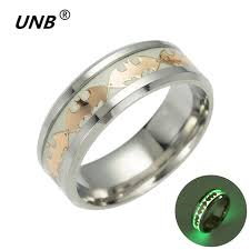 men s rings unb 2017 retro luminous men ring stainless steel batman men s