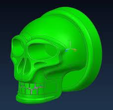 Skull Viewer Skull Jewellery Autodesk 3ds Max Stl Step Iges Autodesk