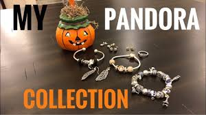 my pandora collection halloween edition and latest haul youtube