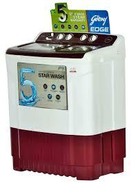 godrej ws 700 ct washing machine wine red