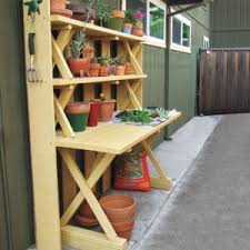 this old house picnic table turn a picnic table into a potting bench the homestead survival