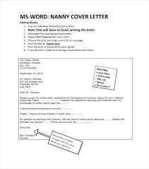 exle of cover letter for resume nanny cover letter exles nanny resume cover letter exle