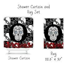 Skull Shower Curtain Hooks Skull Shower Curtain Hooks