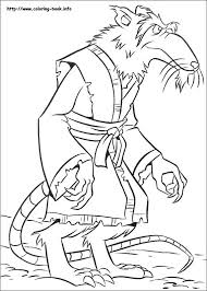 download ninja turtles colouring pages ziho coloring