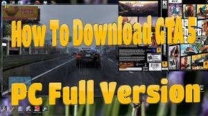 how to download and install gta 5 download link on pc