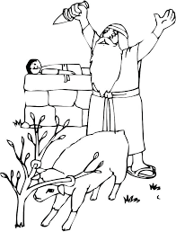 coloring page abraham and sarah abraham and isaac coloring page and coloring page best coloring book