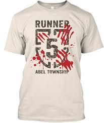 zombies run halloween t shirts runner 5 abel township if this