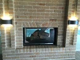 Indoor Outdoor Wood Fireplace Double Sided - double sided wood fireplace insert nz wonderful on best design