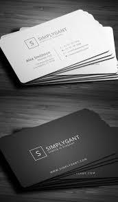 creative business cards best 25 simple business cards ideas
