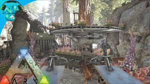 raiding the tree platform base in the redwoods ark survival