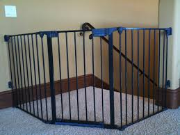 Baby Gate For Stairs With Banister Top Of Stairs Baby Gate Ideas Latest Door U0026 Stair Design