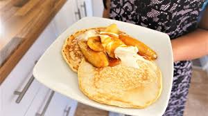 Stonewall Kitchen Pancake Mix Scotch Pancakes Simple And Tasty Recipe With Caramelised Banana