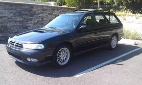 custom subaru legacy wagon fs for sale sold 1998 subaru legacy gt wagon black 5mt