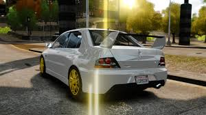 mitsubishi lancer evo modified gta gaming archive