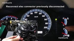 how to reset fuel filter amber warning light toyota innova d 4d