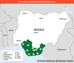 Map Of Nigeria Africa by Nigeria U0027s Oil War Who Are The Niger Delta Militants