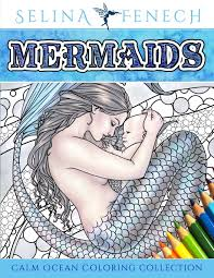 mermaids coloring book by selina fenech mermaid gifts fairyglen com