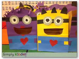minion valentine bags simply kinder