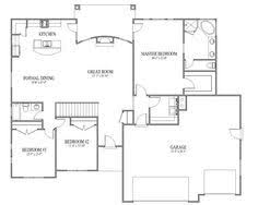 simple floor plans for homes two bedroom home plans two bedroom traditional planos