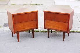 Mid Century Nightstands Mid Century Modern Nightstands For Platform Bed All Modern Home