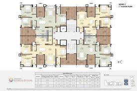 grandeur 8 floor plan ongoing residential projects in nashik samraat gokuldham