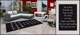 tappeti moderni bianchi e neri tappeti soggiorno spedizione gratuita bollengo